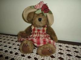 Boyds Aunt Phiddy Bearburn Teddy Bear Plush Brown Jointed LTD 10 Inch 23... - $34.41