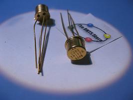 JAN CDBS 2N1039 Germanium Ge PNP Transistor Gold Vintage Qty 2 - $9.49