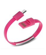 8 Pin USB To USB Cable Bracelet Data Sync Cord For iPhone 5, 5s, 6, 6s P... - $3.99