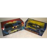 Batman Electronic Batmobile Extreme Power + Johhny Lightning Batmobile D... - $38.69