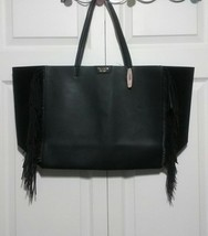 Victoria's Secret Black Fringe Tote  - $37.00