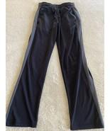 Champion Boys Black Gray Side Striped Athletic Pants Pockets 8-10 - $8.33