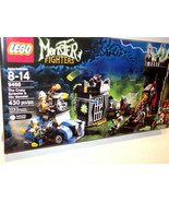 Lego ✰ New Monsters Fighters ✰ #9466 ✰ The Crazy Scientist & His Monster - $85.99