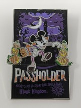 2019 Mickey's Not So Scary Halloween Party WDW Passholder LR Disney Pin ... - $14.84