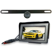 Top Dawg Wireless License Plate Backup Wide Angel HD Camera - $129.99