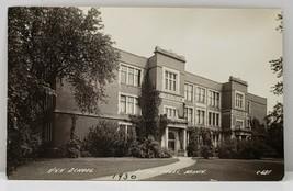 Little Falls Minnesota HIGH SCHOOL Lepinski Family Real Photo 1930 Postc... - $16.95