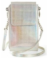 No Boundaries Ladies North South Crossbody Jessica Wallet Purse Iridescent  - £10.59 GBP