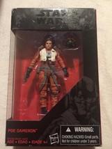 "Hasbro Star Wars The Black Series 3.75"" W3/15 EP7 Poe Dameron Action Figure - $12.86"