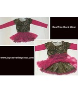 Realtree Buck Wear Hot Pink Camouflage Toddler Dress Sz 2T or 3T - $10.99