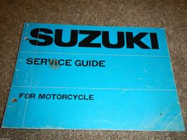 Suzuki Serive Guide And Specifications Shop Service Repair Manual - $140.24