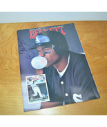 Vintage FRANK THOMAS AUTOGRAPHED Beckett Baseball Card Magazine 1993 Jan... - $24.29