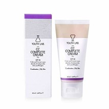 YOUTH LAB CC Complete Face Moisturizing Cream - Tinted Facial Moisturizer SPF30