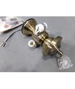 Fanimation 3-Light Bowl Fitter, Ceiling Fan Lighting Part Antique Brass ... - $20.85