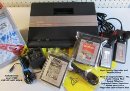 Atari 7800 Refurbished Upgraded OS NTSC | PAL MODs AV | LED | Heat Sink ID: #024 - $368.00