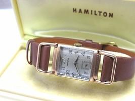 HAMILTON WILSHIRE VINTAGE NICE WATCH IN BOX image 1