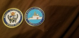 "COAST GUARD PORTSMOUTH USCGC NORTHLAND WMEC-904 1.75"" CHALLENGE COIN - $17.14"