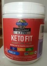 Garden of Life Dr. Formulated Keto Fit Weight Loss Shake VANILLA Powder 10 Serve - $29.99