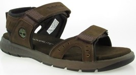 Timberland A1QZ4 Men's Dark Brown Sport Ankle Strap Sandals Size 9 - $49.99