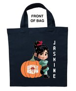 Vanellope Trick or Treat Bag, Personalized Vanellope Halloween Bag - $11.99+