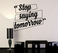 Vinyl Wall Decal Motivation Quotes Office Home Inspiration Stickers (ig4... - $23.82 CAD+