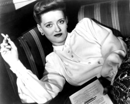 Bette Davis classic smoking cigarette with script in hand 8x10 Photo - $7.99