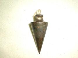 Old plumb bob metal 8 oz tool - $25.00