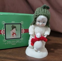 Dept 56 Snowbabies Snowbaby Celebrations 2007 BABY'S FIRST STEPS 796004 ... - $12.00