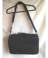 """Tronic Briefcase Laptop Black Canvas  Secure Laptop Flap Interior 17""""X 11""""  - $16.58"""
