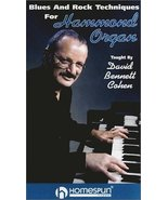 Blues and Rock Techniques for Hammond Organ [VHS] [VHS Tape] [2000] - $9.45