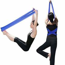 TRIXES Pilates Band Rubber Yoga Resistance Fitness Exercise Band - $4.99