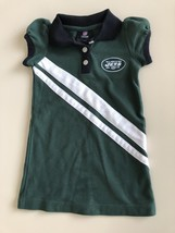 NFL TEAM APPAREL NEW YORK JETS   Toddler Girls POLO DRESS - Size 3T - $19.77