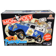 Skill 2 Snap Model Kit 1933 Willys Panel Paddy Wagon Police Van Monopoly... - $61.28
