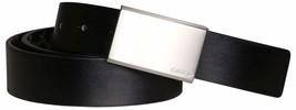 Calvin Klein Men's Reversible Premium CK Logo 35mm Harness Belt Black 7511296 image 2