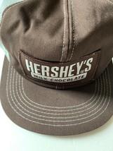 Vintage HERSHEY'S MILK CHOCOLATE Mesh Snapback Trucker Hat K PRODUCTS BRAND - $63.35