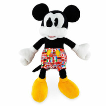 Disney Parks Epcot Flags Mickey Mouse 11inc Plush New with Tags - $26.42