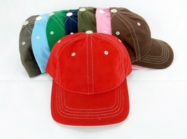 6 Panel Baseball Cap, Choice of 8 Fashion Colors, 1 Size Fits All, FlexF... - $6.95