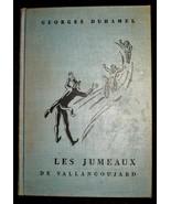 1940 Les Jumeaux De Vallangoujard Georges Duhamel RARE French/English La... - $15.83