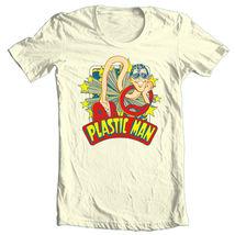 Plastic man t shirt prankster saturday morning cartoon dc super hero tee dco670 retro thumb200