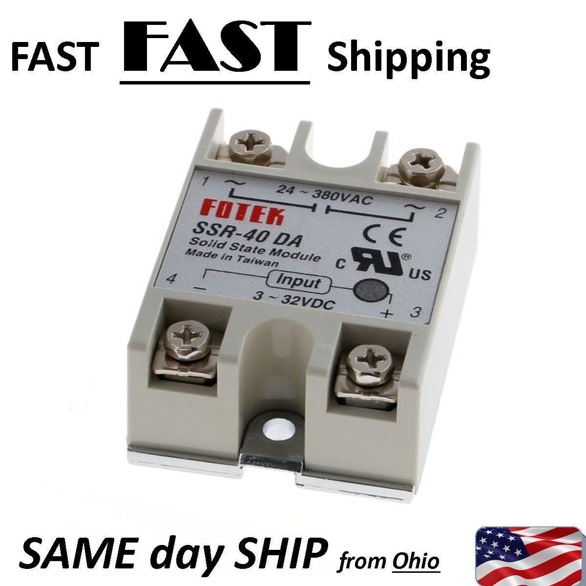 40 Amp Solid State Relay Dc 3v 5v 10v And 50 Similar Items Taiwan S L1600