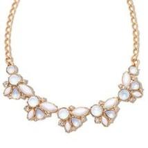 Avon floral cluster collar necklace  - $19.80