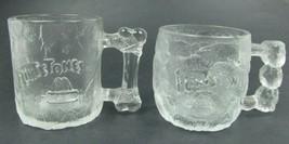 McDonalds 1993 Set of 2 Coffee Mugs The Flinstones Movie - Rocky Road & ... - $11.88
