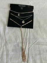 """Guess Necklace Bundle Rose Gold & Silver Color 12/13/14/16/18+ 3"""" 412321-43 - $8.90"""