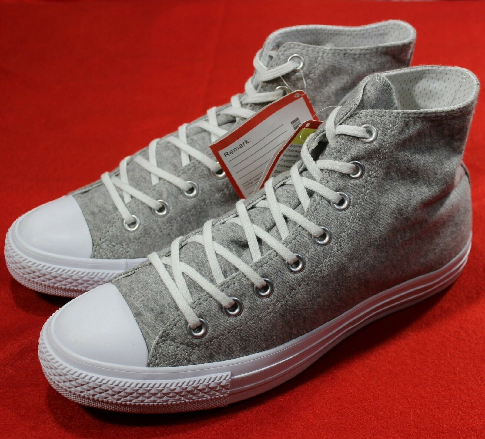 Primary image for CONVERSE SAMPLE Chuck Taylor ALL-STAR II 2 HI Canvas Denim GREY [159635C] size 9