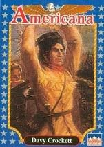 Davy Crockett trading card (Frontiersman and Folk Hero) 1992 Starline Am... - $3.00