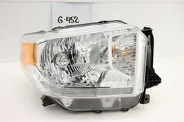 Oem Head Light Headlight Lamp Headlamp Toyota Tundra 14-17 Rh Damaged, Leveling - $59.40