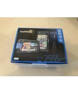 "Garmin Nuvi 2555LMT 5"" GPS Navigator (w/ Lifetime Maps & Traffic) Pristi... - $74.20"