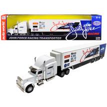 2019 Freightliner John Force Racing Transporter 1/64 Diecast Model by Au... - $37.09