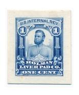 1879 1c RS126TC Holman Liver Pad Co., Trial Color Proof, Blue - €191,36 EUR