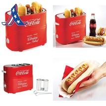 Nostalgia Hdt600Coke Coca-Cola Pop-Up Hot Dog Toaster - €19,88 EUR
