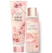 Victoria's Secret Velvet Petals La Crème Fragrance Lotion + Mist Duo Set - $39.95
